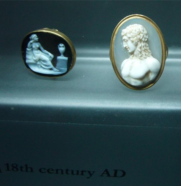 bagues musées du Capitole à Rome