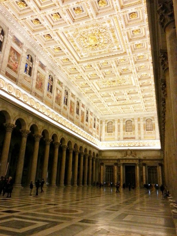 basilique Saint-Paul-hors-les-Murs à Rome