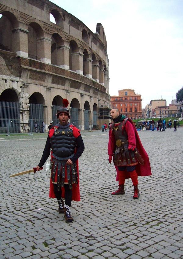 gladiateur du Colisée à Rome