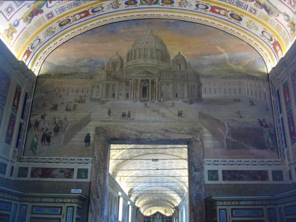 Fresque du Vatican