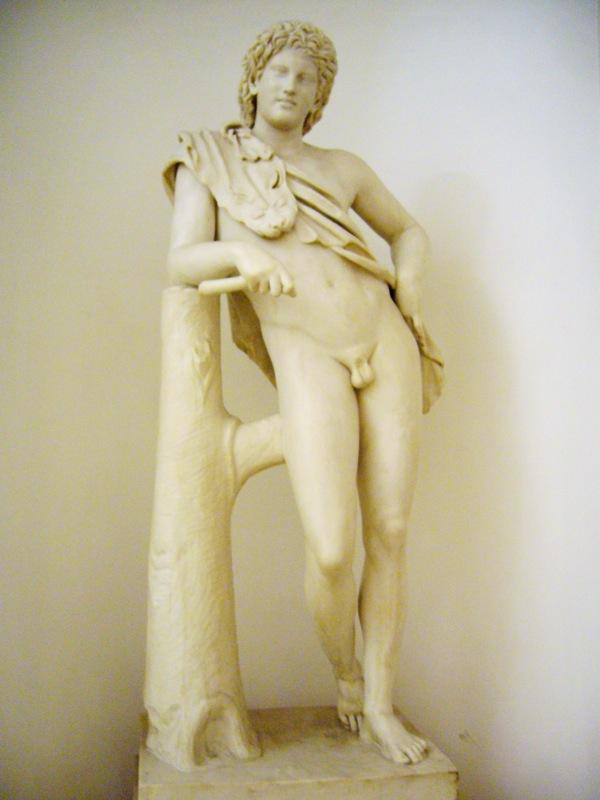 Statue musées du Capitole à Rome