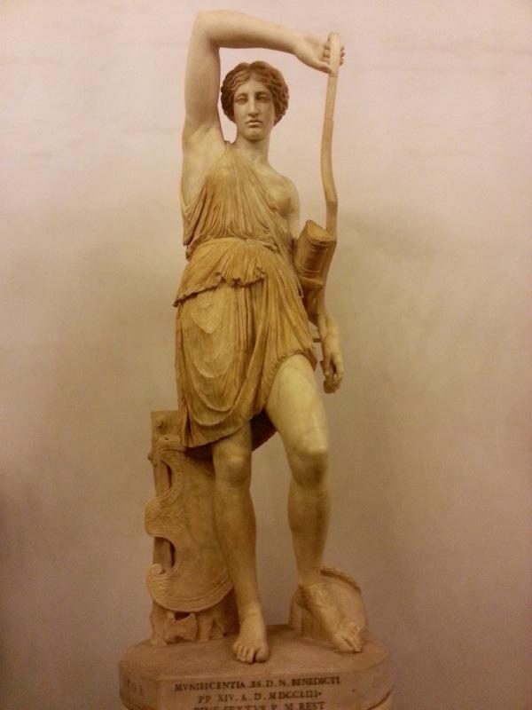 Statue du musées du Capitole à Rome