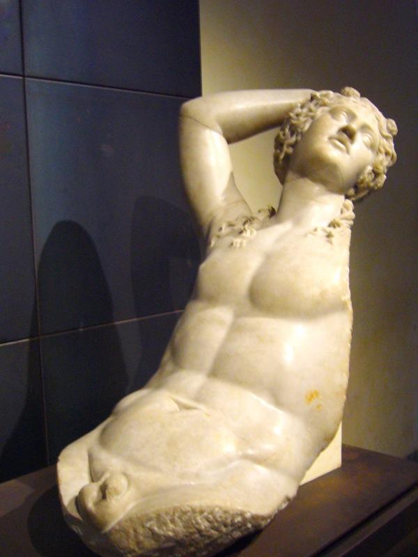 Statue des musées du Capitole à Rome