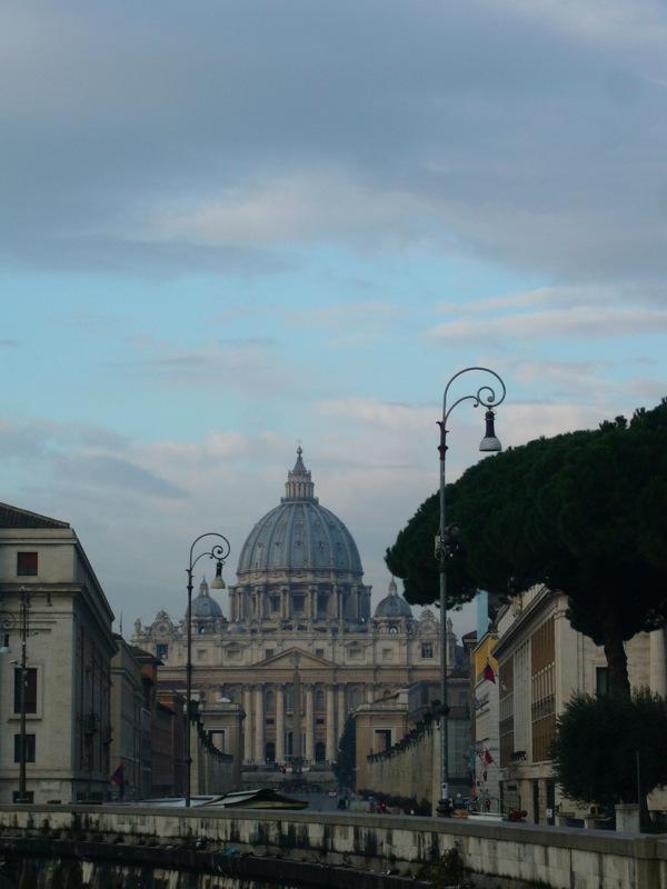 Vue sur le Vatican Rome