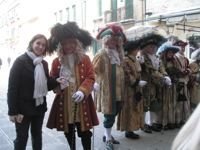 Costumes et fête au Carnaval de Venise