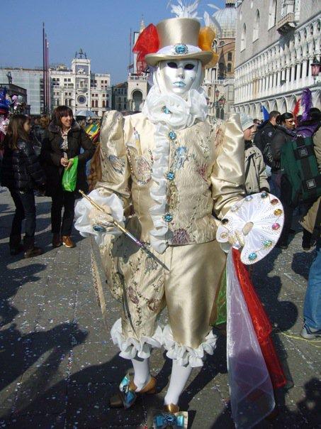 Costume Peintre Carnaval de Venise