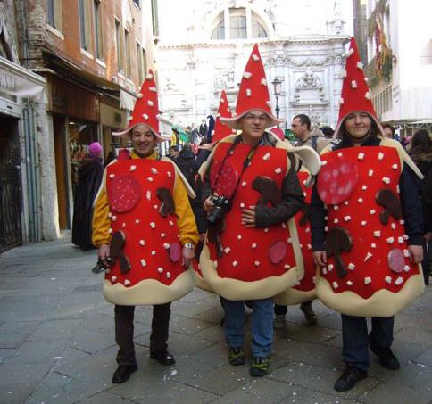 Costumes pizza Carnaval de Venise