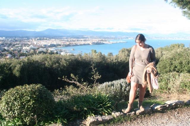 look mode depuis le phare de la Garoupe à Antibes