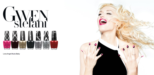 vernis à ongles OPI collection Gwen Stefani