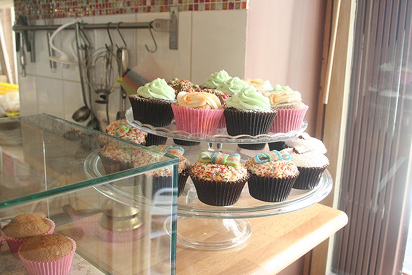 cupcakes du Choopy's café d'Antibes