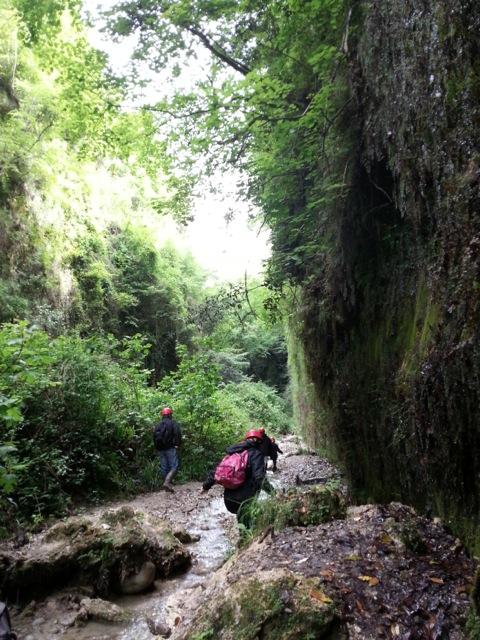 Randonnée dans le vallon obscur du Donaréo à Nice