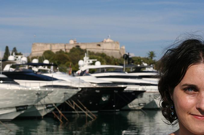 fort carré depuis le port d'Antibes