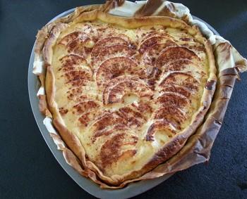 tarte aux pommes recette divine