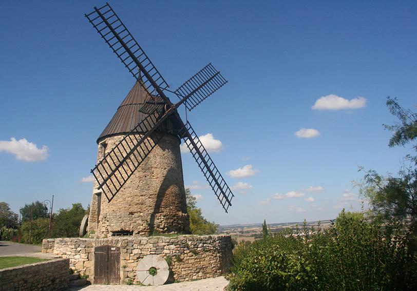 moulin de Cugarel à Castelnaudary