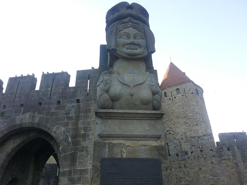 Dame Carcas de la Cité de Carcassonne
