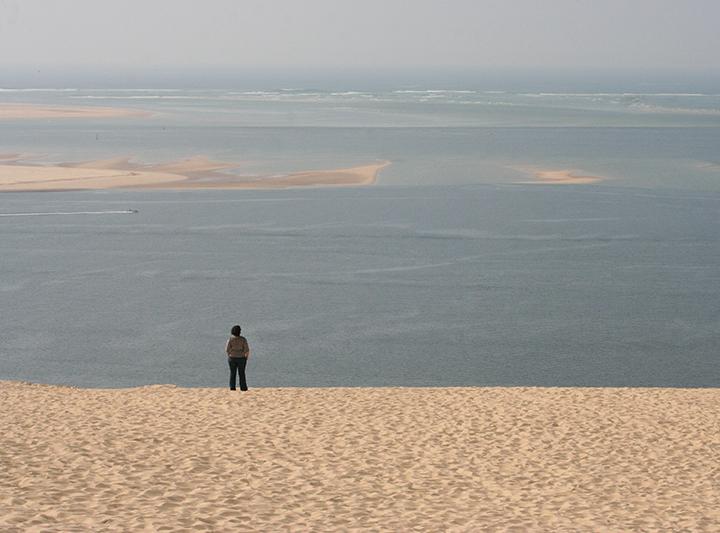 Look boucles d'oreilles bouddha sur la dune du Pyla