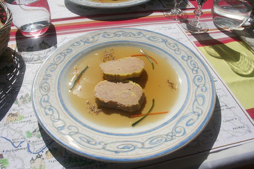 Foie gras de canard du restaurant la rapière à Sarlat-la-Canéda