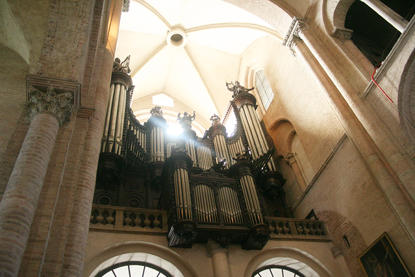 Orgue de la basilique Saint-Sernin à Toulouse