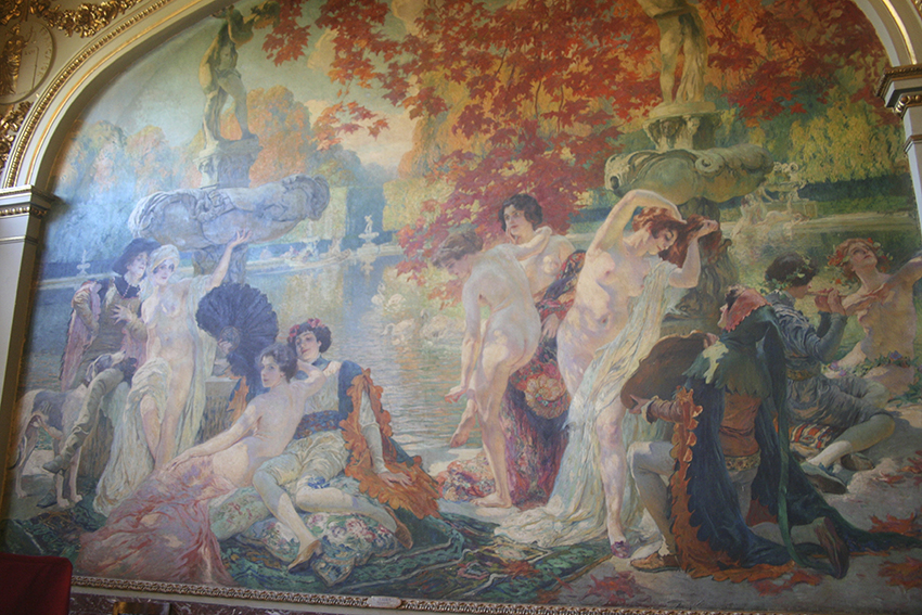 L'île de Cythère dans la salle Gervais du Capitole de Toulouse