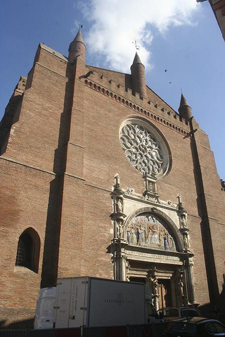Eglise Notre Dame de la Dalbade à Toulouse