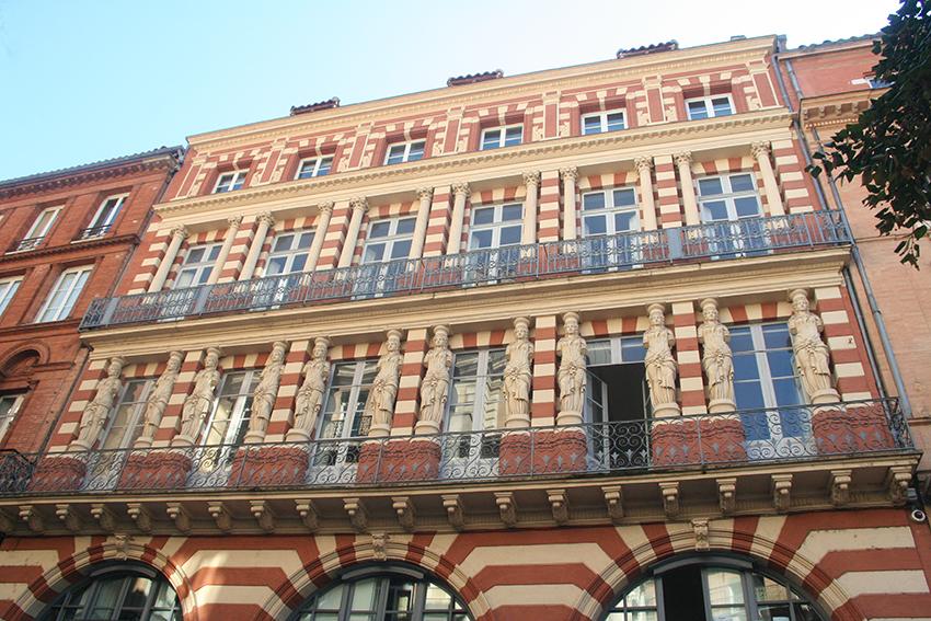 Maison aux cariatides à Toulouse
