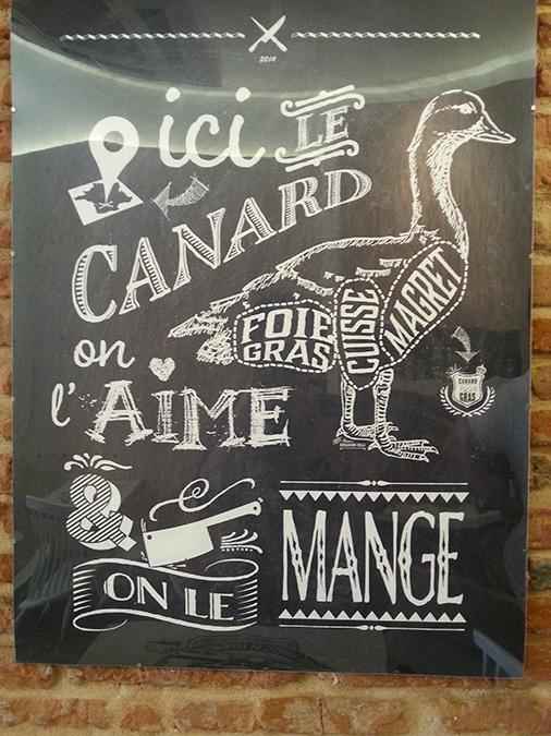 Affiche du restaurant Duck me de Toulouse
