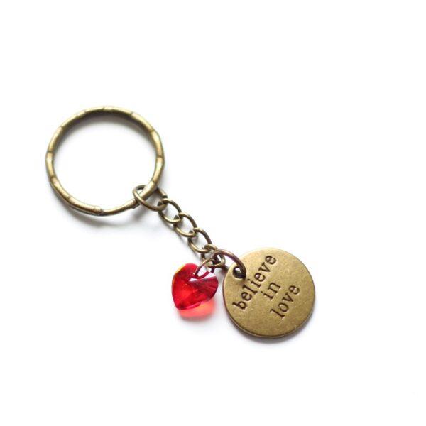 Porte clefs amour par Divine et Féminine.