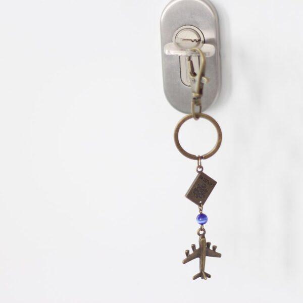 Porte clefs voyage passeport par Divine et Féminine.