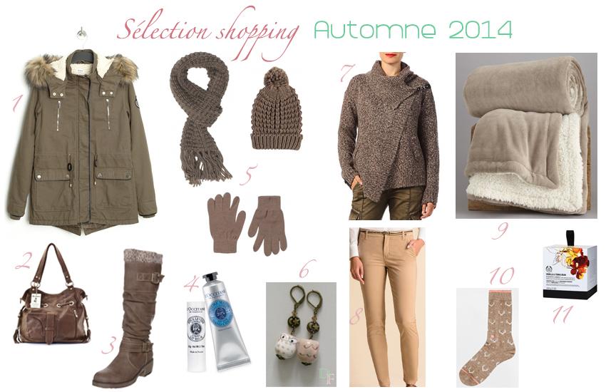 Sélection mode shopping automne 2014