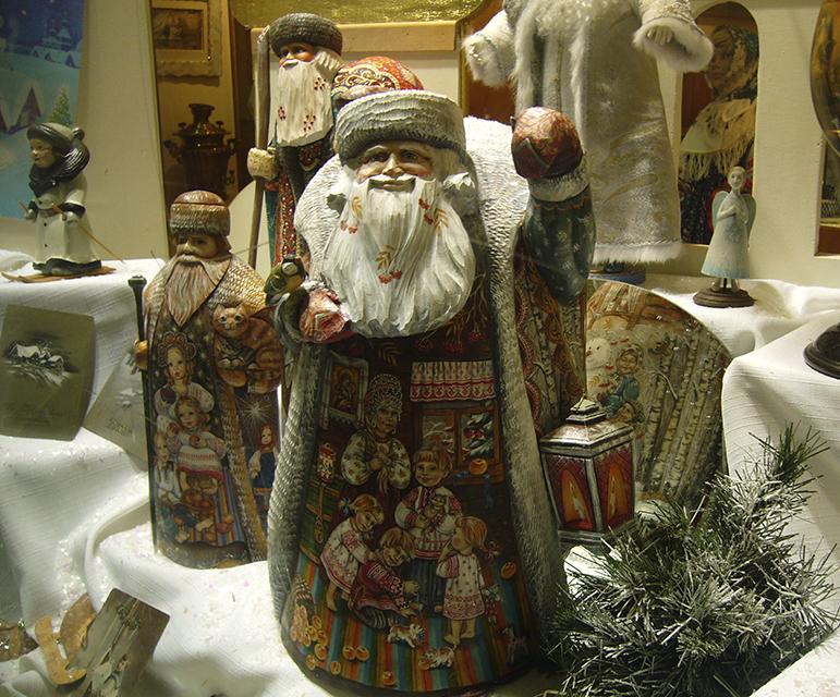 marché de Noël de Strasbourg 2012 , la Russie.