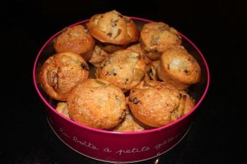 recette muffins poire chocolat