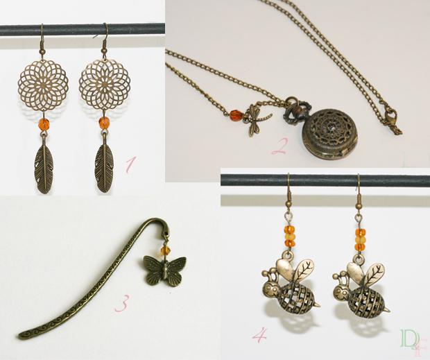 Des bijoux et accessoires pour le printemps !