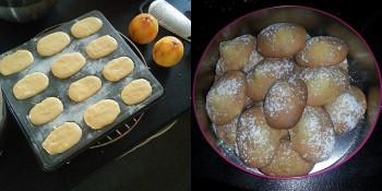 Tranches de bonheur : recette de cuisine, madeleines.