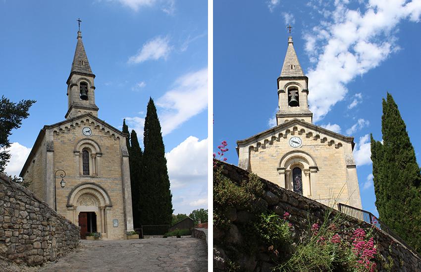 Eglise de la Roque-sur-Cèze.