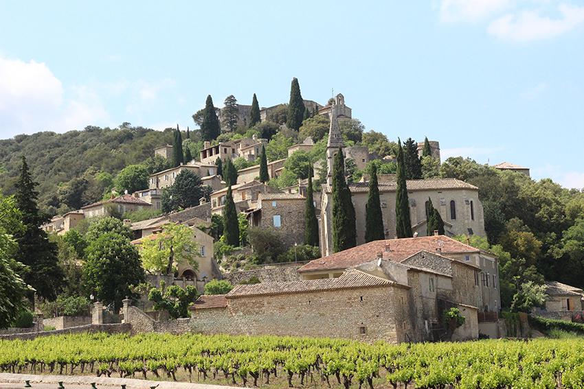 La Roque-sur-Cèze.