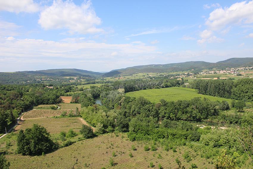 Vallée de la Cèze.