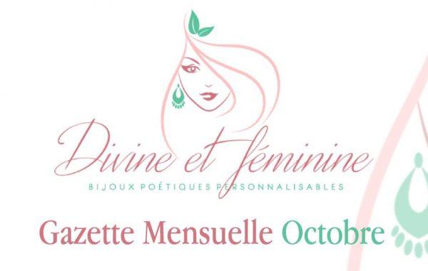 Gazette Mensuelle Divine et Féminine d'Octobre