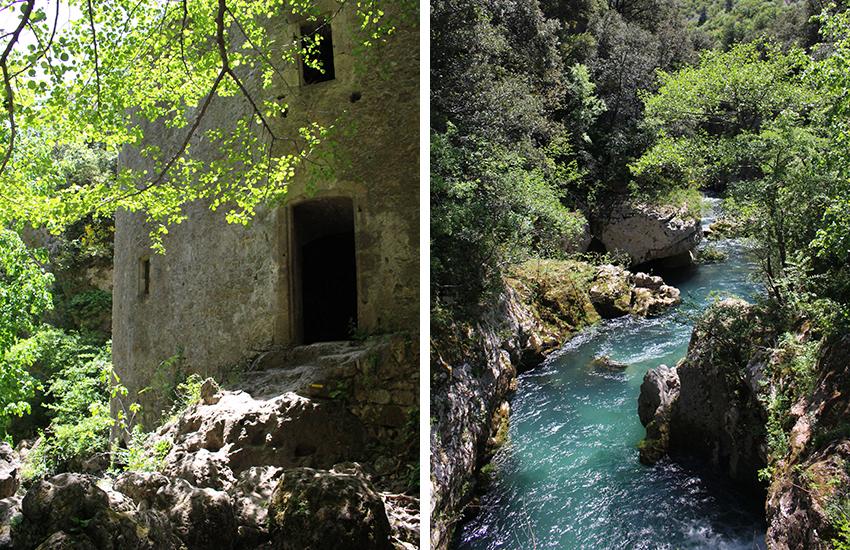 Moulins de la Foux et Vis.