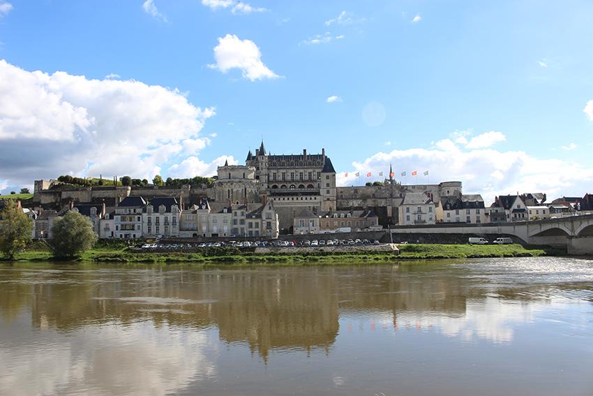 Châteaux de la Loire : château royal d'Amboise.
