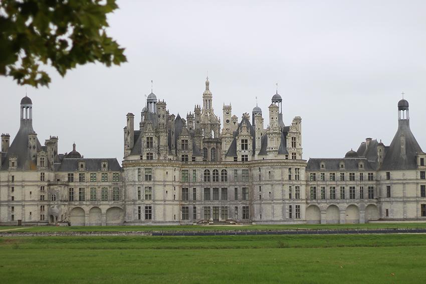 Châteaux de la Loire : Chambord.