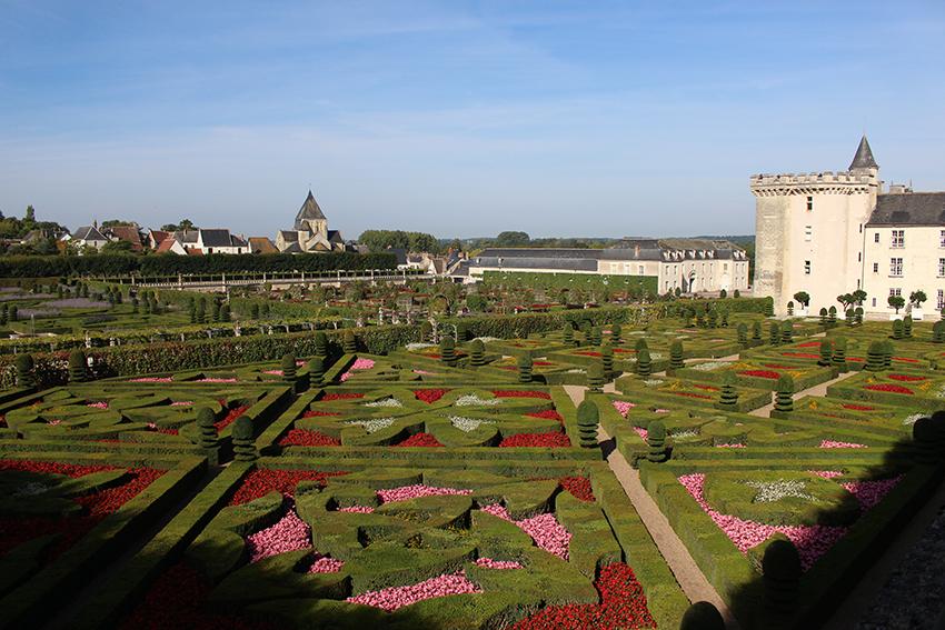 Châteaux de la Loire : Villandry et ses jardins.