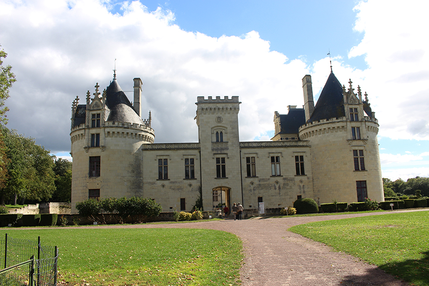 Châteaux de la Loire : Brézé.