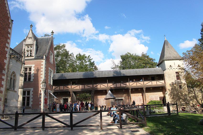 Châteaux de la Loire : le Clos Lucé.