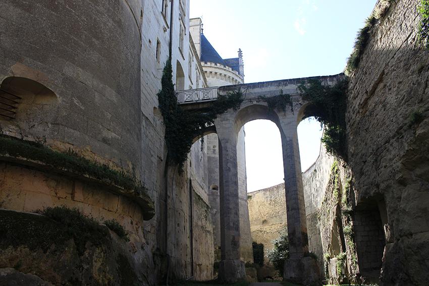 Château troglodyte de Brézé.