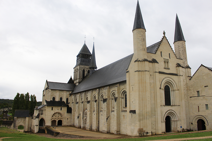 Abbaye royale de Fontevraud.