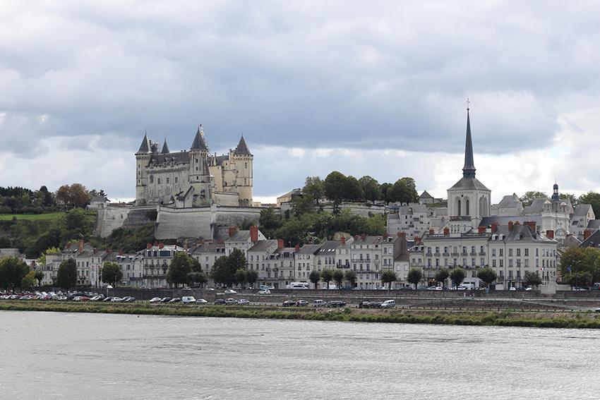 Saumur, château de la Loire.