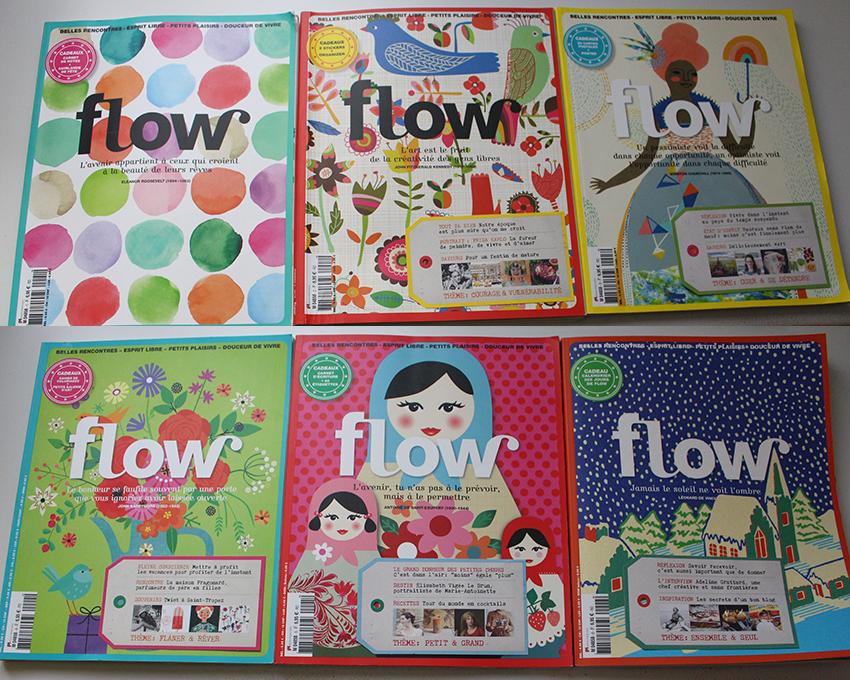 Flow magazine, bonheur et bien-être.