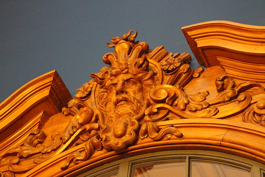 Sculpture du musée océanographique de Monaco.