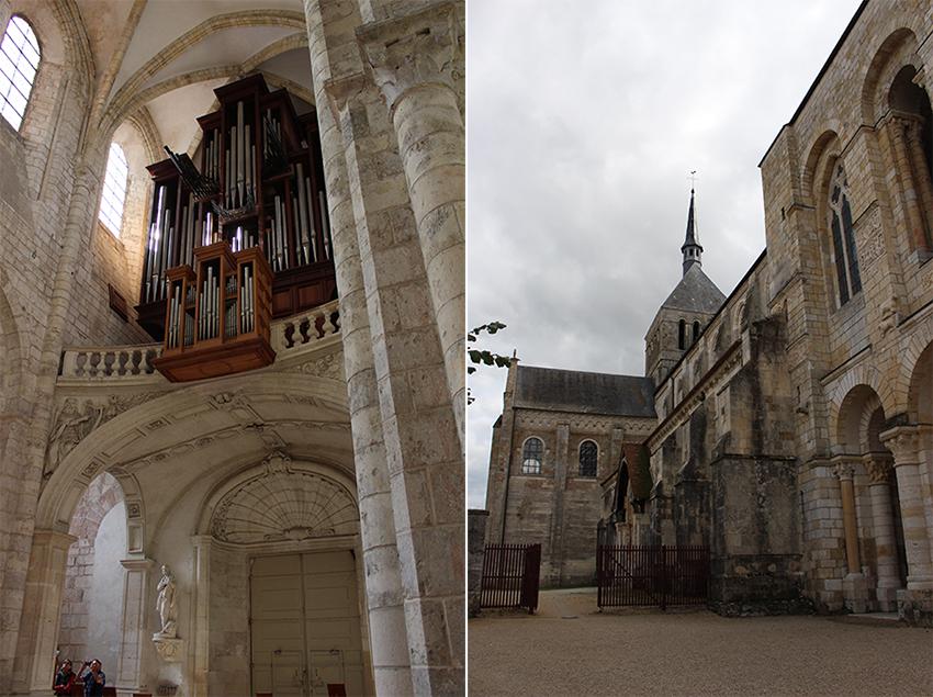 Abbaye bénédictine de Saint-Benoit-sur-Loire.