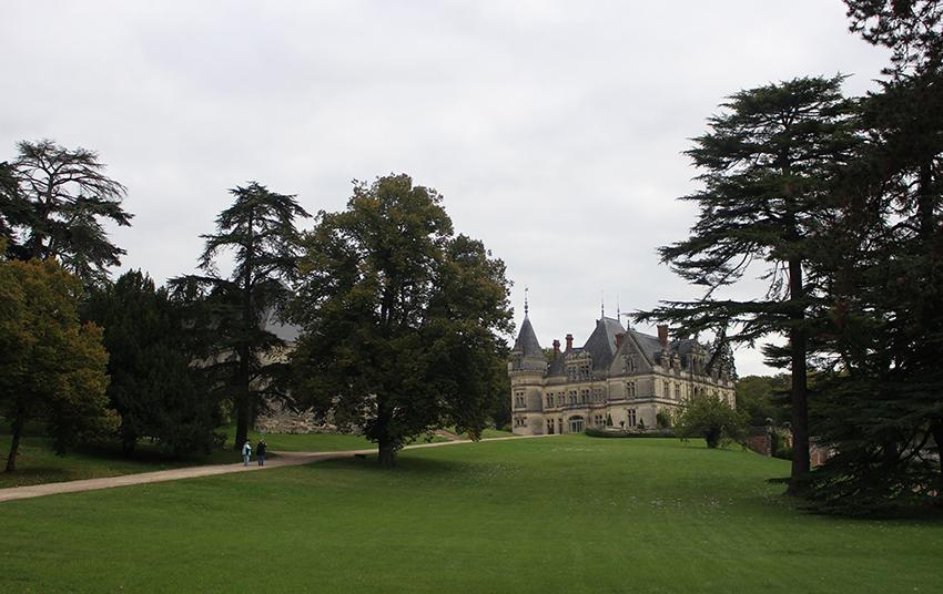 Châteaux de la Loire : château de la Bourdaisière.